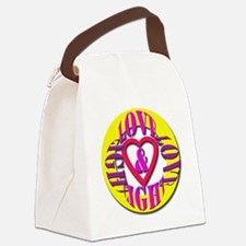love light Canvas Lunch Bag