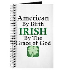 Irish-Grace Of God Journal