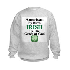 Irish-Grace Of God Sweatshirt