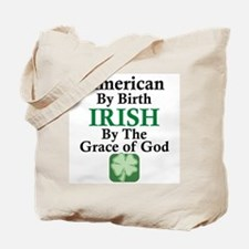 Irish-Grace Of God Tote Bag