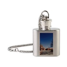 Atlanta. Entrance to Martin Luther  Flask Necklace