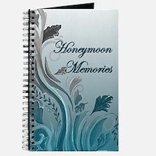 Honeymoon Memories (blue) Journal