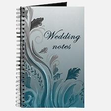 Wedding Notes (blue) Journal