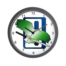 Clan Jade Falcon Wall Clock