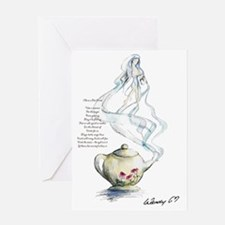 Ode to a Teapot Greeting Card