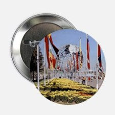 "1964 World's Fair/Unisphere 2.25"" Button"