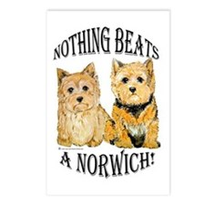 Nothing Beats a Norwich Terri Postcards (Package o