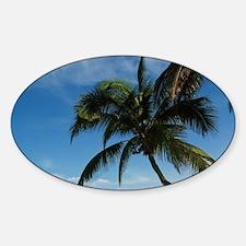 Hawaii, Kihei. Kamaole Beach Park. Sticker (Oval)