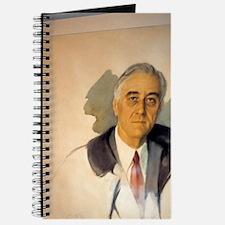 Unfishished Portrait of Franklin Roosevelt Journal