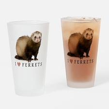 ferretiphonecase Drinking Glass