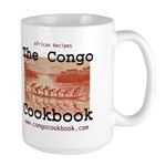 Congo Cookbook Large Mug