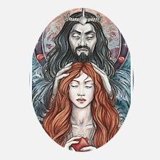 Hades  Persephone Oval Ornament
