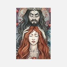 Hades  Persephone Rectangle Magnet