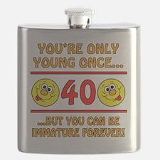 Immature40 Flask