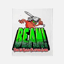 BEAN-Shirt-Looming Throw Blanket