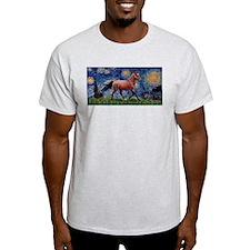 Starry Night Quarterhorse T-Shirt