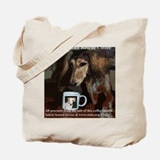 Coffee label5 copy Tote Bag