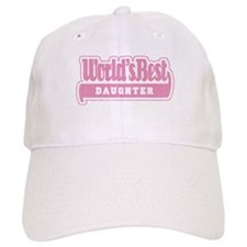 """World's Best Daughter"" Baseball Cap"