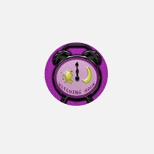 witching hour clock Mini Button
