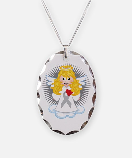 Angel-Watching-Over-Me-Grey-Ri Necklace