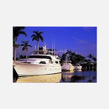 Off Las Olas BlvdFt. Lauderdale B Rectangle Magnet