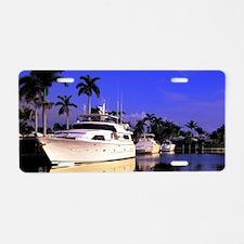 Off Las Olas BlvdFt. Lauder Aluminum License Plate