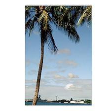 Hawaii, Oahu, Pearl Harbo Postcards (Package of 8)