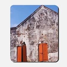 Georgia; Darien; Historic building made  Mousepad