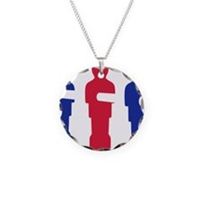 football_table_menblue Necklace