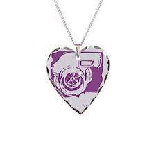 Purple Turbo Necklace