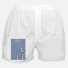Wind turbines of the Smoky Hills Wind Boxer Shorts