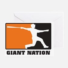 Giant nation v2 Greeting Card