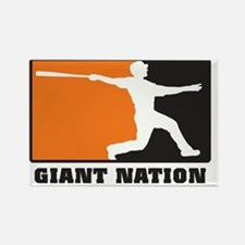 Giant nation v2 Rectangle Magnet