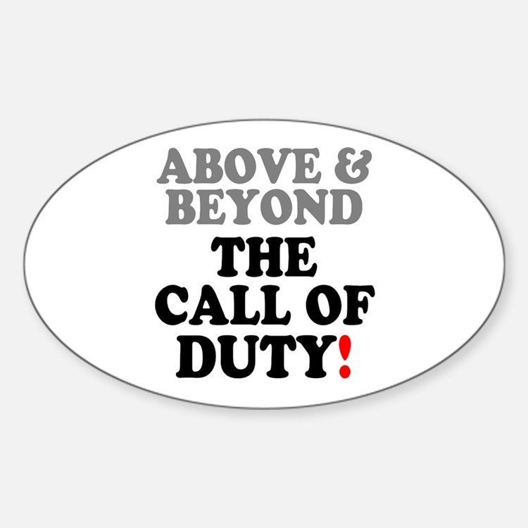 Above and beyond bumper stickers car stickers decals for Above and beyond