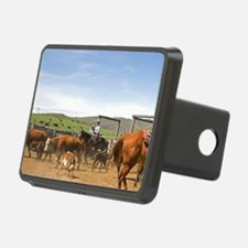 Cowboys rounding up cattle Hitch Cover