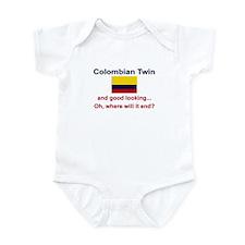 Good Looking Colombian Twin Infant Bodysuit