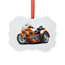 Goldwing GL1800 Orange Trike Ornament