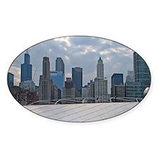 Illinois, Chicago. Millenium Park. Decal