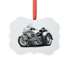 Goldwing GL1800 Silver Trike Ornament