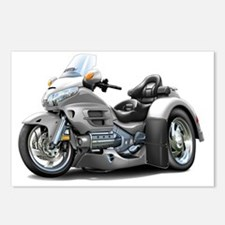 Goldwing GL1800 Silver Tr Postcards (Package of 8)