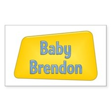 Baby Brendon Rectangle Decal