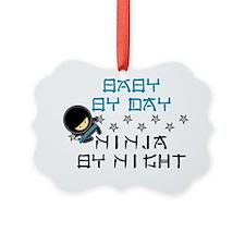 Baby Ninja Blue Ornament