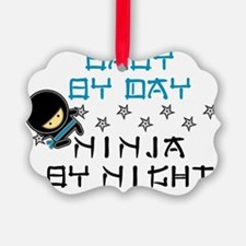 Baby Ninja Blue Ornament