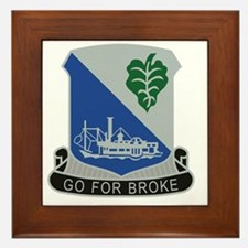 442nd Infantry Regiment Framed Tile