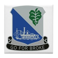 442nd Infantry Regiment Tile Coaster