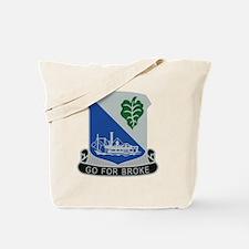 442nd Infantry Regiment Tote Bag