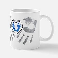 handsnfeet blue Mug