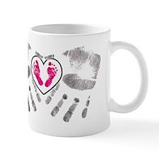 handsnfeet pink Mug