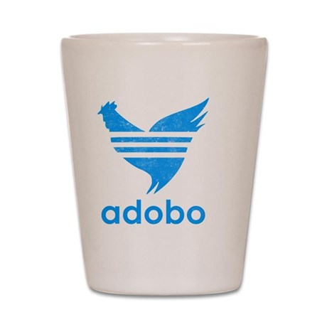 adob-blu Shot Glass