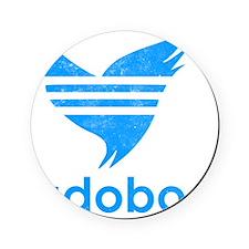 adob-blu Cork Coaster